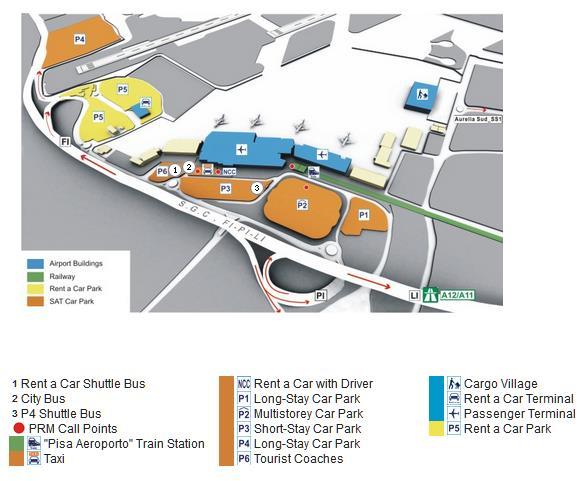 pisa airport terminal map Directions Lunigiana Activities pisa airport terminal map